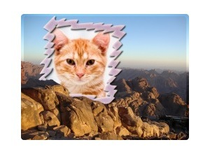 Moldura - Monte Sinai Egito