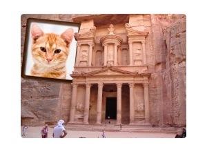 Moldura - Jordania Petra