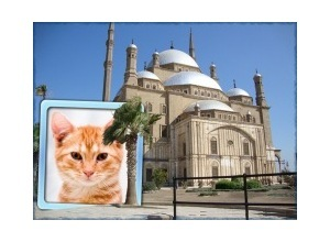 Moldura - Mesquita Mohammed Ali   Cairo