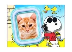 Moldura - Snoopy