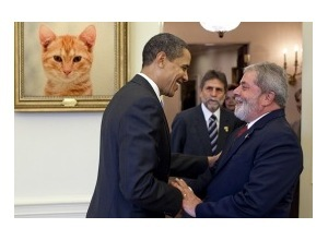 PhotomontagesLula e Obama