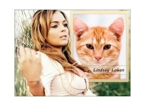 Moldura - Lindsay Lohan