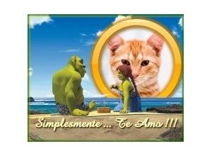 Moldura - Shrek Apaixonado