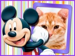 Moldura - Mickey Feliz