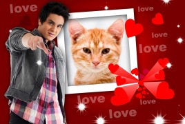 Moldura - Love Luan Santana