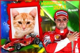 Moldura - Felipe Massa   Formula 1