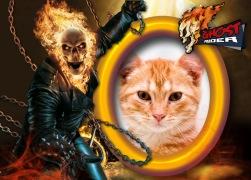 Moldura - Ghost Rider