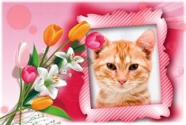 MolduraLindo Bouquet de Flores