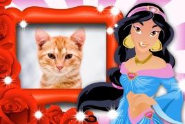 Moldura - Jasmine Aladin