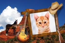 Moldura - Cowboy