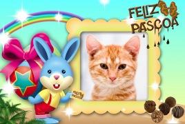 Moldura - Feliz Pascoa 2012