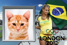 Moldura - Olimpiadas 2012 Brasil
