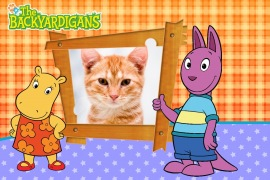 Moldura - The Backyardigans