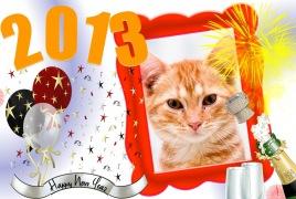 Moldura - Feliz Ano Novo 2013