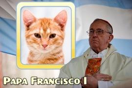 Moldura - Papa Argentino Francisco I
