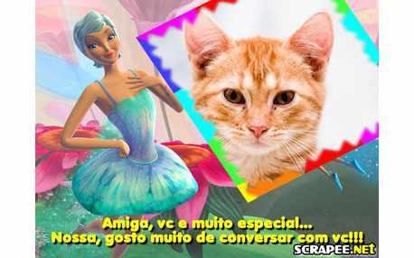 Moldura - Barbie