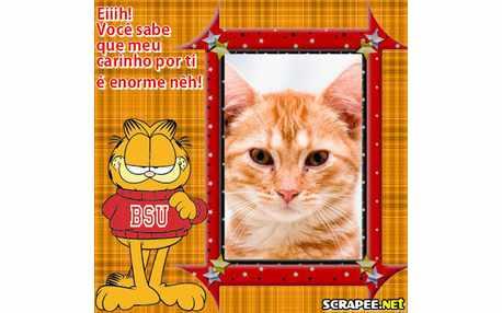 Moldura - Garfield