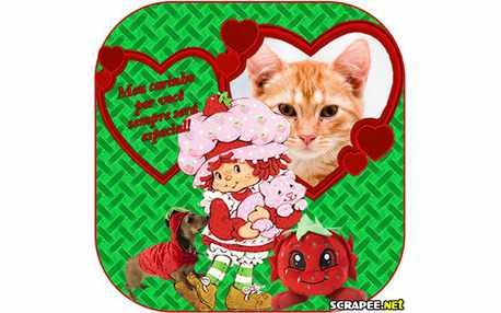 Moldura1446 mensagem de carinho