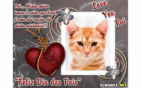 Moldura - Love You Pai