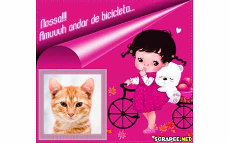 Moldura - Amo Bicicleta