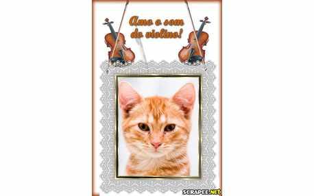 Moldura - Amo Violino