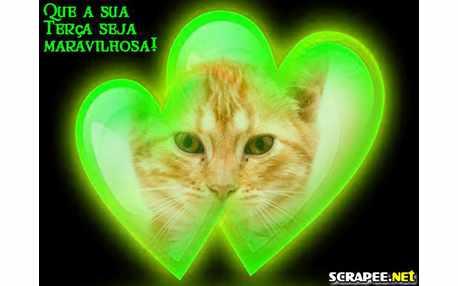 Moldura - Coracao Verde