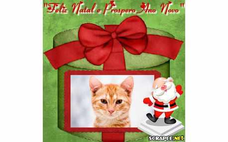 Moldura - Presente De Natal