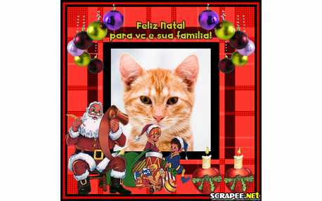 Moldura - Natal Em Familia