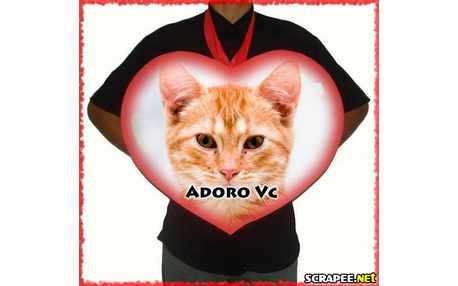 Moldura - Adoro Cvc Coracao