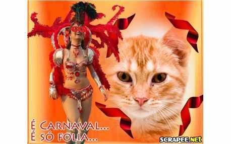 Moldura - Carnaval E So Folia
