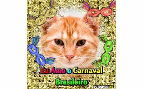 Moldura - Carnaval Brasileiro