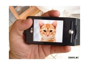 Montagem de foto foto celular smartphone