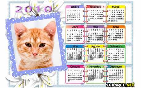 Moldura - Calendario 2010