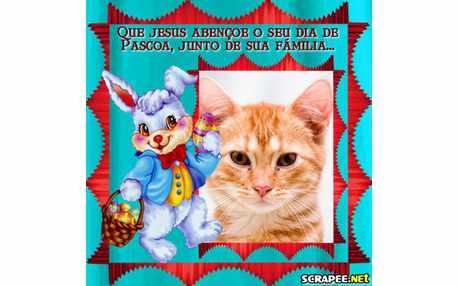 Moldura - Feliz Pascoa A Todos