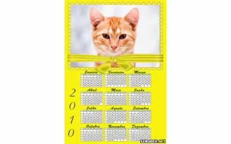 Moldura - Calendario Para Por Foto