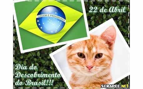 Moldura - Dia Do Descobrimento Do Brasil