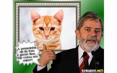 Moldura - Montagem Do  Lula