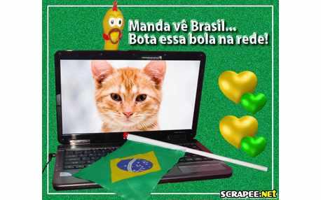 Moldura - Torcedor  Brasileiro