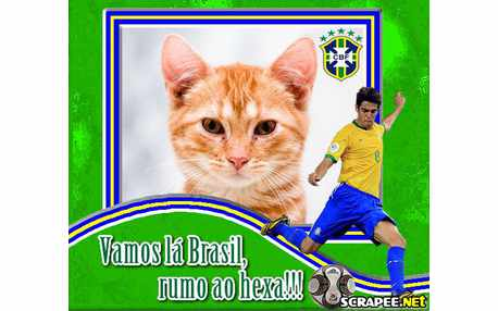 Moldura - Brasil Na Copa