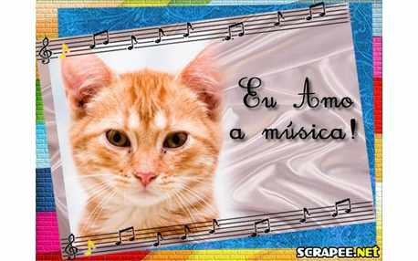 Moldura - Estudante De Musica