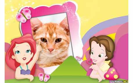 Moldura - Princesas Baby