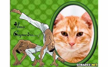 Moldura - Aula De Capoeira