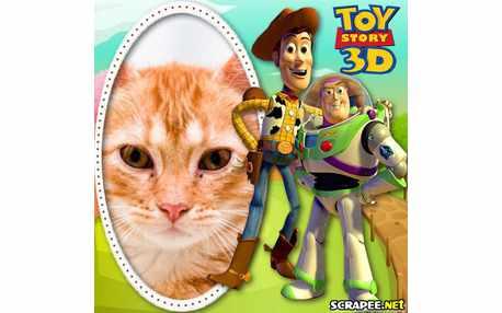 Moldura - Toy Story