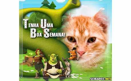 Moldura - Shrek Para Sempre