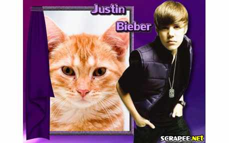 Moldura - Justin Bieber