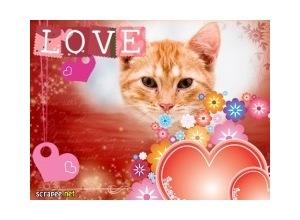 Moldura - I Love You Meu Amor
