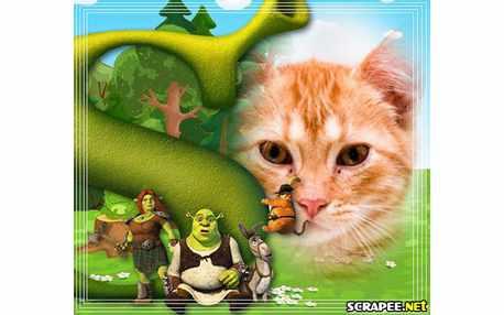 Moldura - Filme Shrek Para Sempre