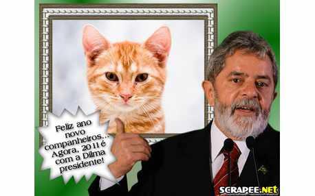 Moldura - Feliz Ano Novo Lula