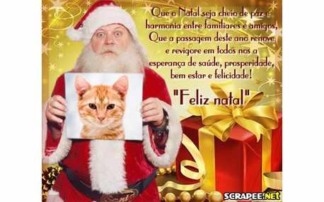 Moldura - Foto De Natal