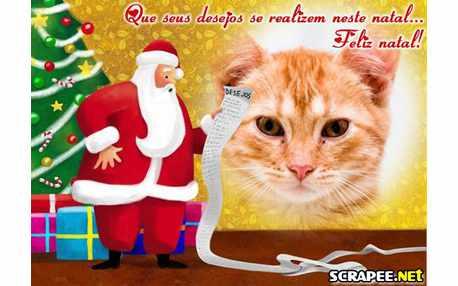 Moldura - Desejos De Natal